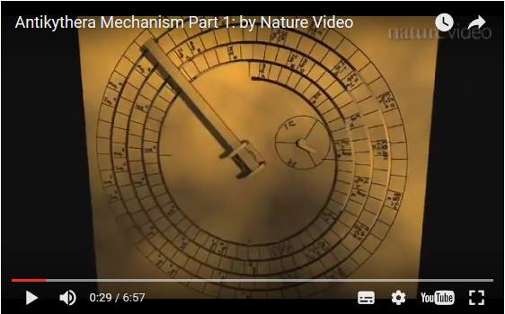 Antikythera Mechanism Video