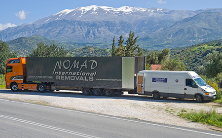 Why use nomad nomad international removals shipping for Good greek moving and storage
