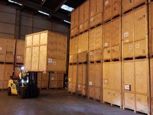 Warehouse - DSV - Forklift 2