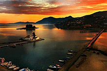 Corfu---Kanoni-Sunset