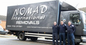 Nomad's UK Removal Team