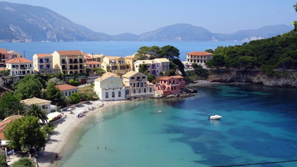 Moving to Kephalonia
