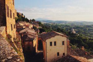 Italy Tuscany Village