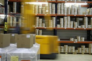 Warehouse Packing Boxes