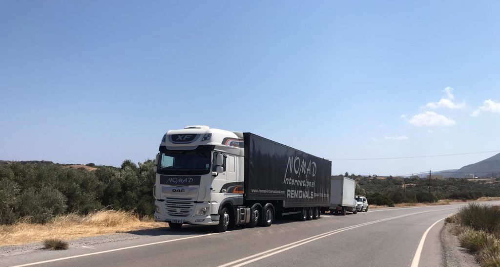 Removals to remote locations in Greece